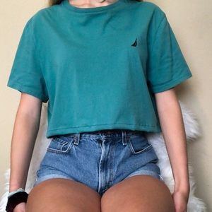Nautica Cropped Shirt